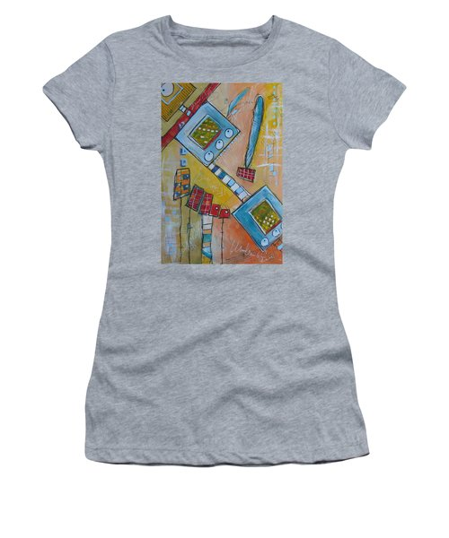 Abstract 74 Women's T-Shirt (Athletic Fit)