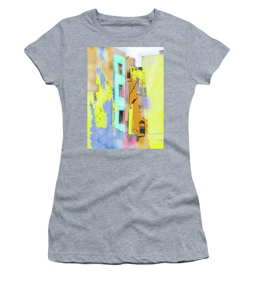 Abstract  Images Of Urban Landscape Series #2 Women's T-Shirt