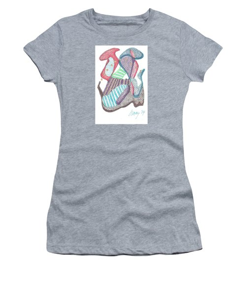 Abstract Women's T-Shirt (Junior Cut) by Rod Ismay