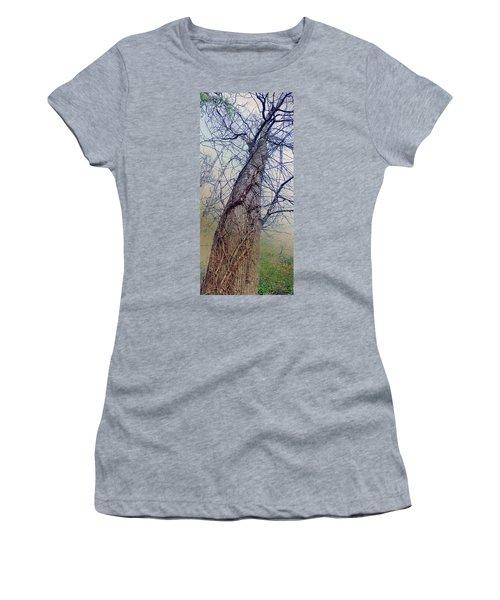Abstract Tree Trunk Women's T-Shirt
