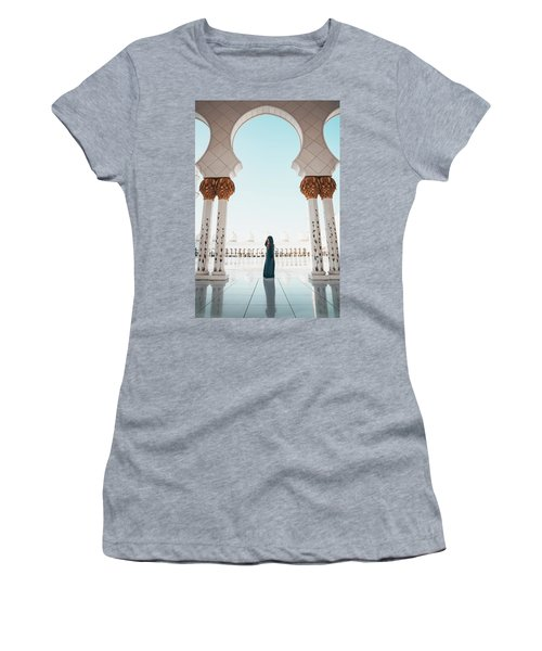 Abu Dhabi Mosque Women's T-Shirt