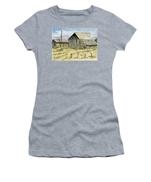 Aceo No 3 Two Barns Women's T-Shirt (Athletic Fit)