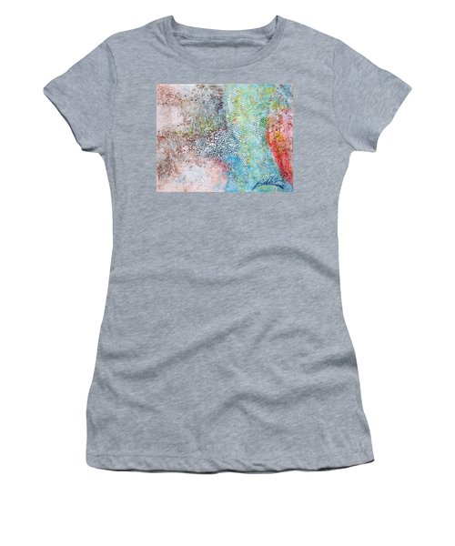 Acrylic 201108 Women's T-Shirt (Athletic Fit)