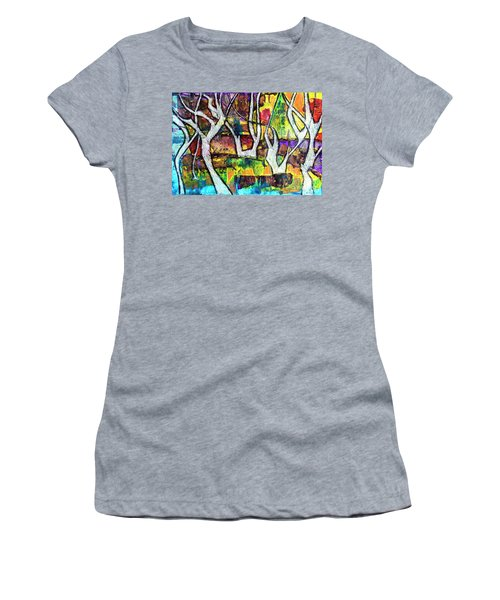Acrylic Forest  Women's T-Shirt