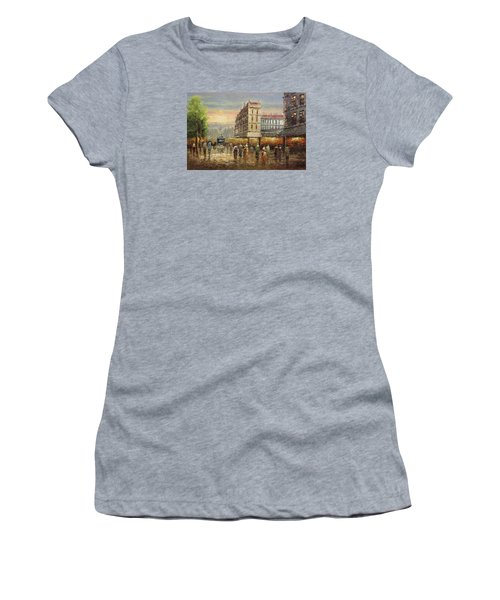 Acrylic Msc 132 Women's T-Shirt (Athletic Fit)