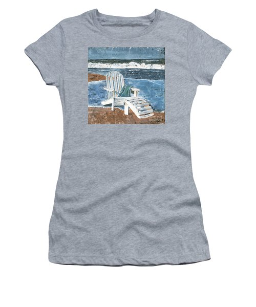 Adirondack Chair Women's T-Shirt (Athletic Fit)