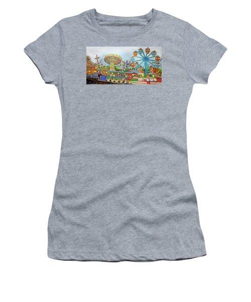 Adventureland Towel Version Women's T-Shirt (Athletic Fit)
