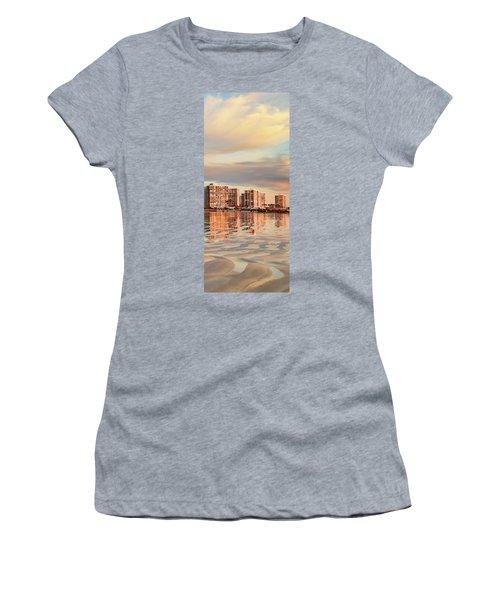 Afloat 6x14 Panel 5 Women's T-Shirt (Athletic Fit)