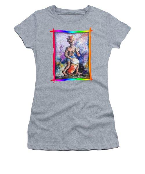 African Drummer Women's T-Shirt