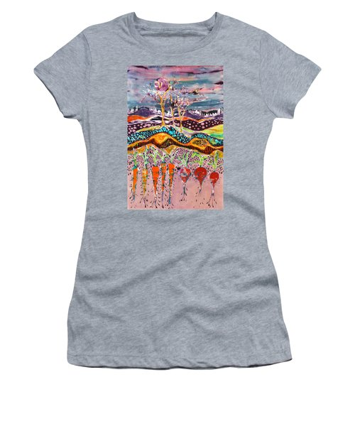 After The Thunderstorm Women's T-Shirt (Athletic Fit)
