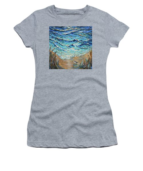 Afternoon Tide Women's T-Shirt (Athletic Fit)
