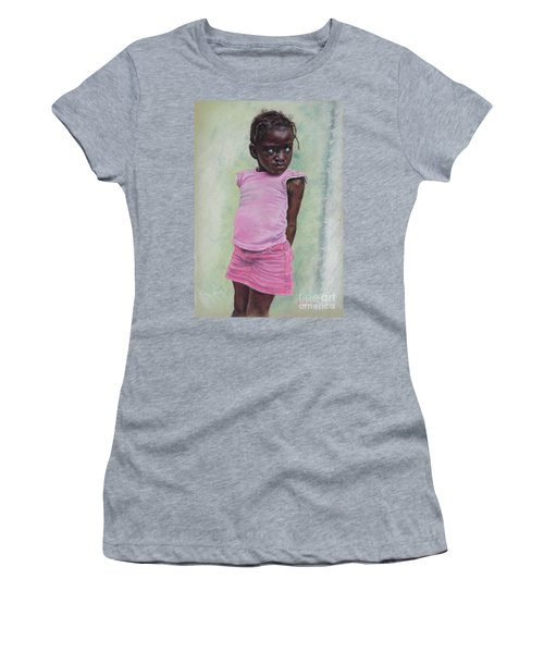 Against The Wall Women's T-Shirt (Athletic Fit)