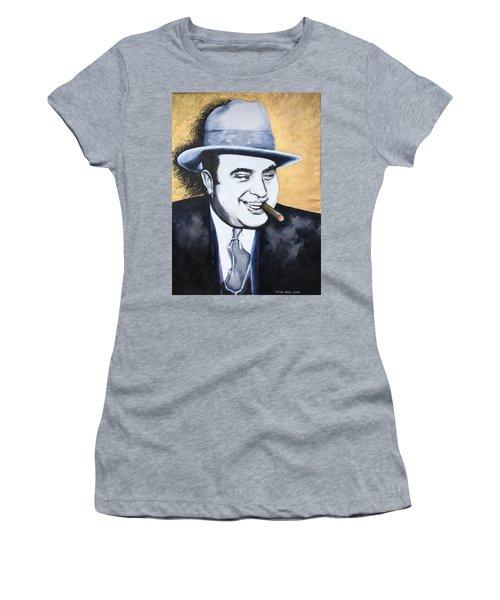 Al Capone Women's T-Shirt (Athletic Fit)