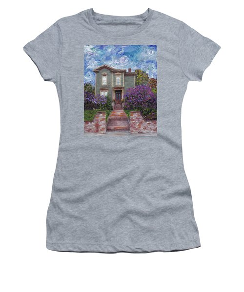 Alameda 1888 - Italianate Women's T-Shirt (Junior Cut) by Linda Weinstock