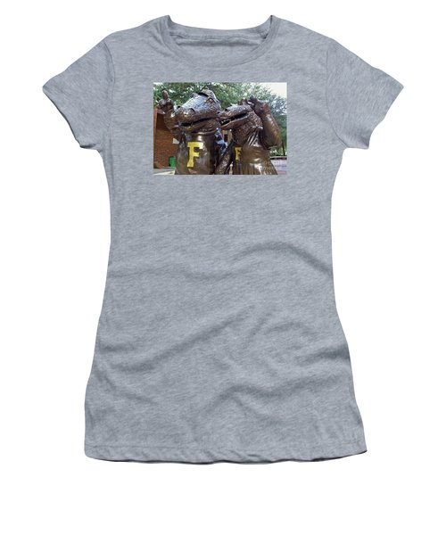 Albert And Alberta Women's T-Shirt (Junior Cut) by D Hackett