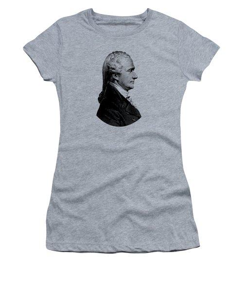 Alexander Hamilton Graphic Portrait  Women's T-Shirt