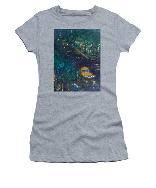 Alexandria Women's T-Shirt (Junior Cut) by Leela Payne