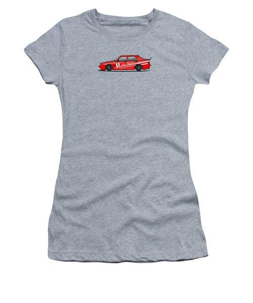 Alfa Romeo 75 Tipo 161 Works Corse Competizione Rosso Women's T-Shirt
