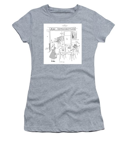 Alice In Responsibilityland Women's T-Shirt