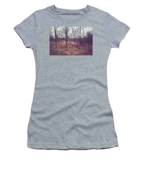 Women's T-Shirt (Junior Cut) featuring the photograph All The While by Shane Holsclaw