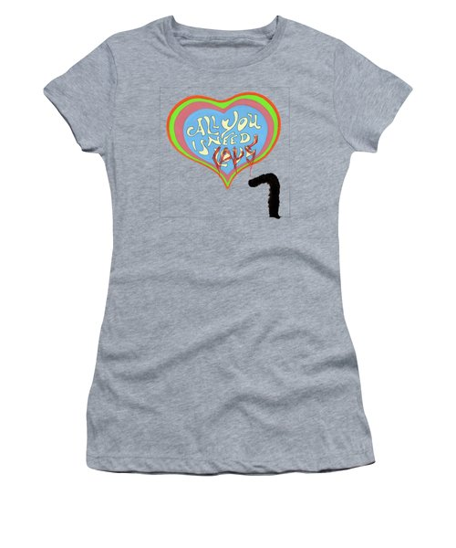 All You Need Is Cats Women's T-Shirt (Junior Cut) by Marc Philippe Joly