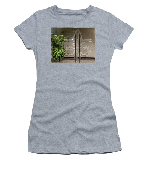 Women's T-Shirt (Junior Cut) featuring the photograph Alma Mater by Gregory Daley  PPSA