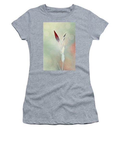 Alone In The Light Women's T-Shirt (Athletic Fit)