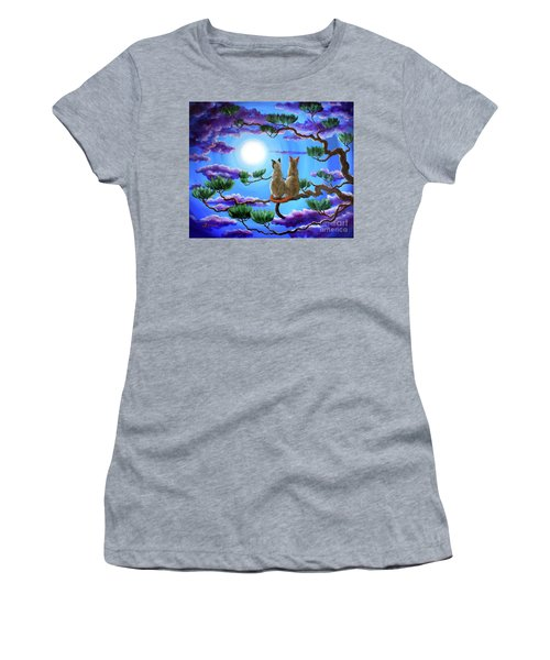 Alone In The Treetops Women's T-Shirt (Athletic Fit)