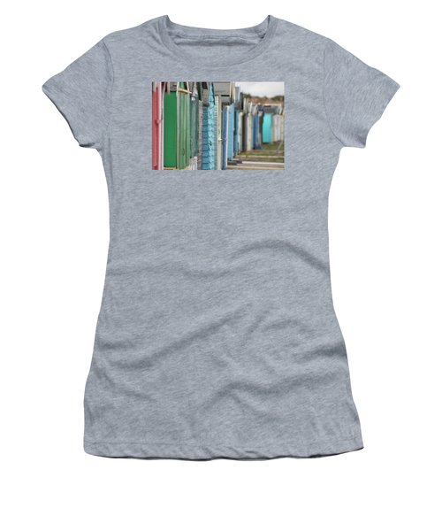 Along The Beach Women's T-Shirt (Athletic Fit)