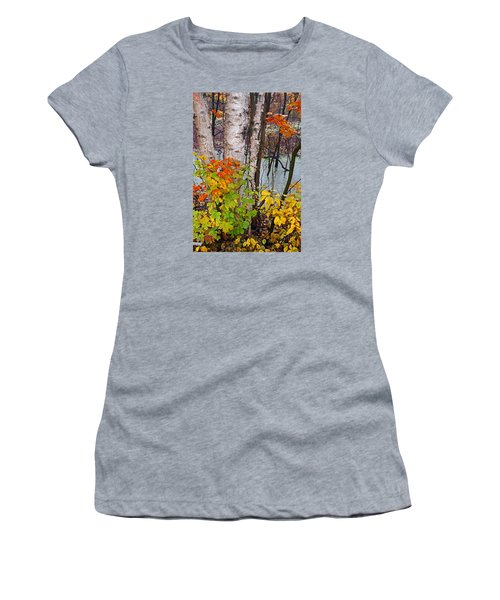 Along The Breezeway In Autumn 2014 Women's T-Shirt (Athletic Fit)