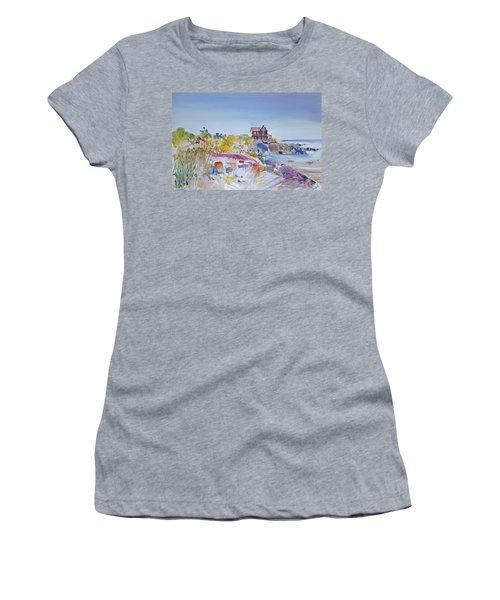 Along The Coast Women's T-Shirt (Junior Cut) by P Anthony Visco