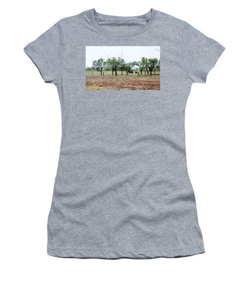 Along The Road Women's T-Shirt (Athletic Fit)