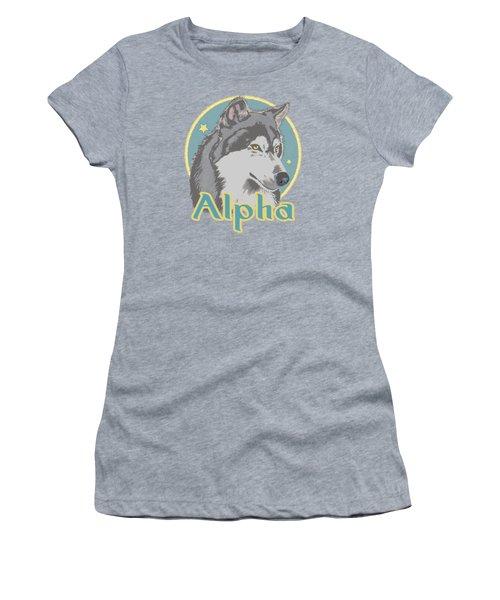 Alpha Women's T-Shirt (Athletic Fit)