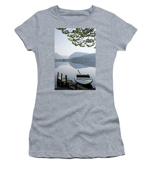 Women's T-Shirt (Junior Cut) featuring the photograph Alpine Moods by Ian Middleton