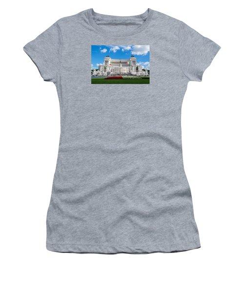 Altare Della Patria-3344 Women's T-Shirt (Junior Cut) by Alex Ursache