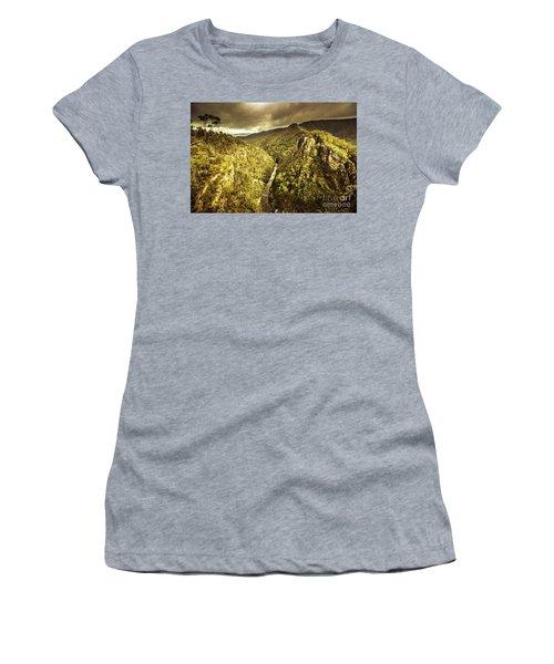 Alum Cliffs, Tasmania, Australia Women's T-Shirt