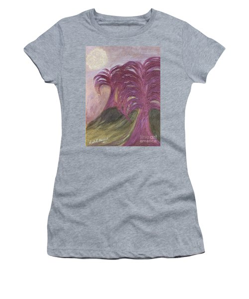 Ambient Moonlight Women's T-Shirt (Athletic Fit)