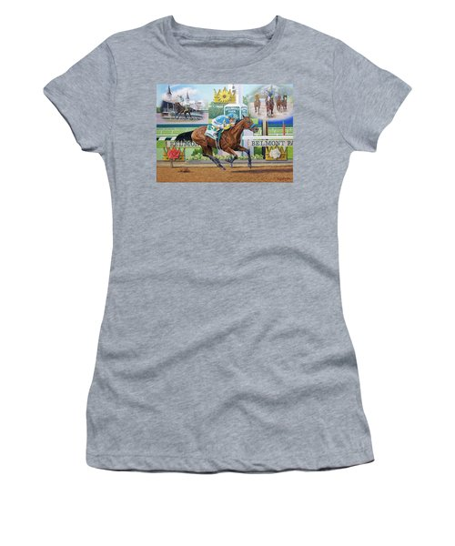 American Pharoah Women's T-Shirt (Athletic Fit)