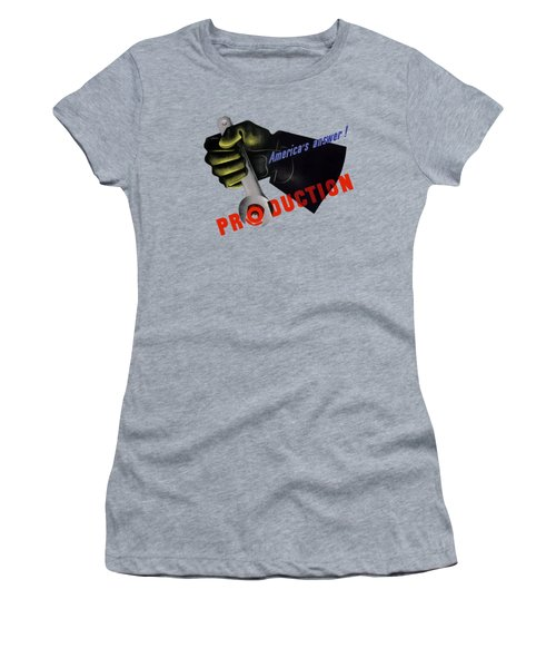 America's Answer -- Production  Women's T-Shirt