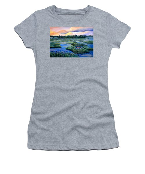 Amongst The Reeds Women's T-Shirt (Athletic Fit)