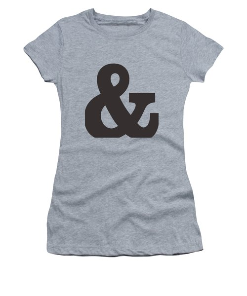 Ampersand - And Symbol 3 - Minimalist Print Women's T-Shirt