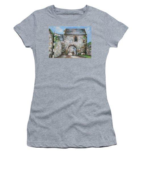 An Tholsel Women's T-Shirt (Junior Cut) by Marty Garland