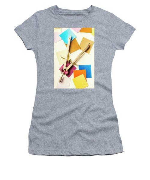 An Upside Down Build Women's T-Shirt
