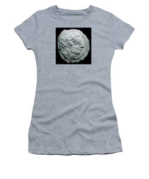 Ancient Greek Relief Seal Drawing Women's T-Shirt (Athletic Fit)