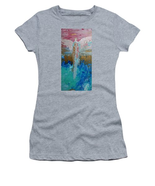 Angel Of Divine Love Women's T-Shirt (Athletic Fit)
