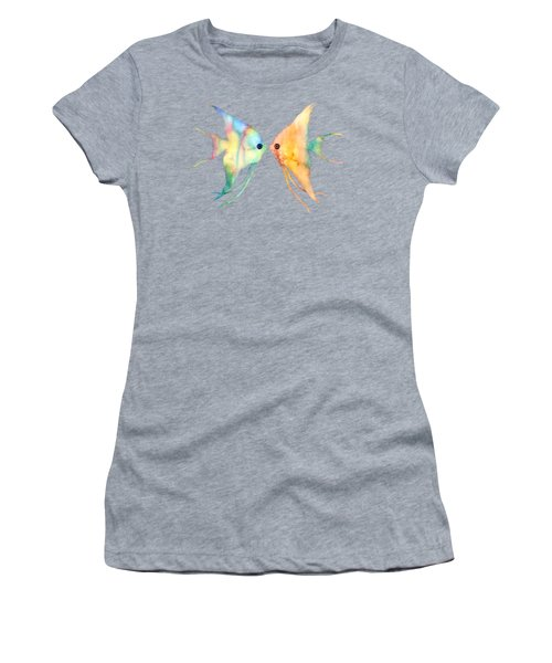 Angelfish Kissing Women's T-Shirt
