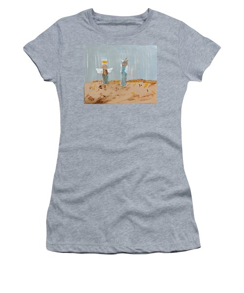 Angels Taking Care Of E Women's T-Shirt
