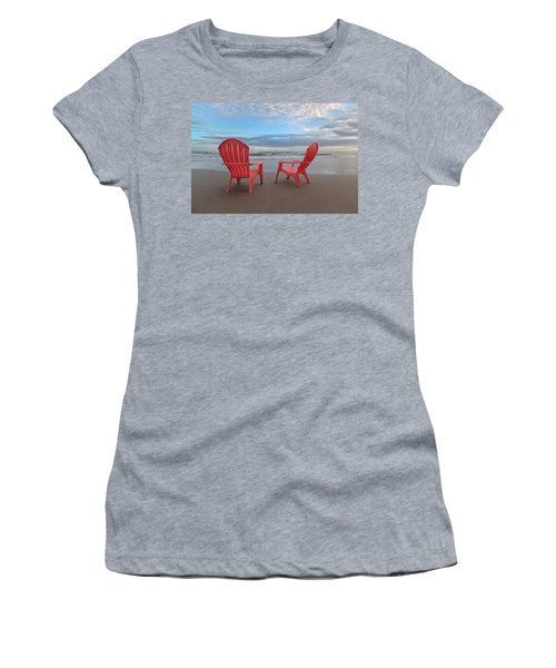 Another Busy Beach Day Women's T-Shirt