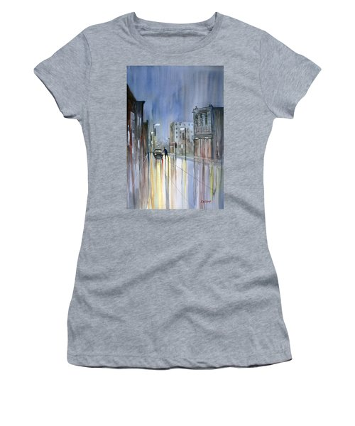 Another Rainy Night Women's T-Shirt (Athletic Fit)
