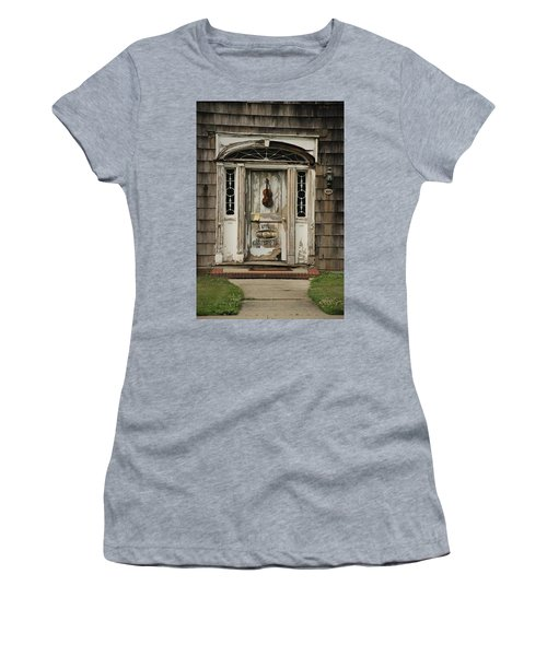 Antique Carpenter Door Women's T-Shirt